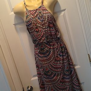 Aventura dress, organic cotton size large NWOT.
